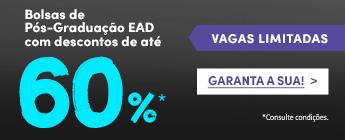 banner de pós-graduação com até 60% de desconto